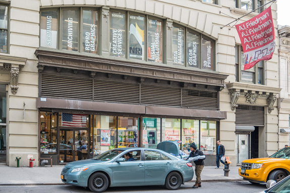 A.I. Friedman on West 18th Street