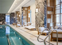 The pool at 30 Park Place