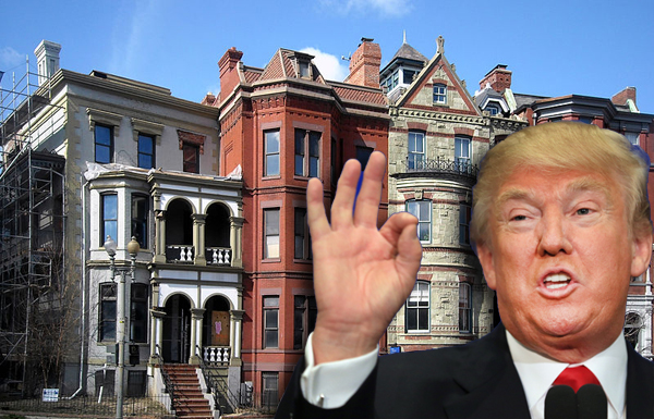 Logan Circle in D.C. and Donald Trump