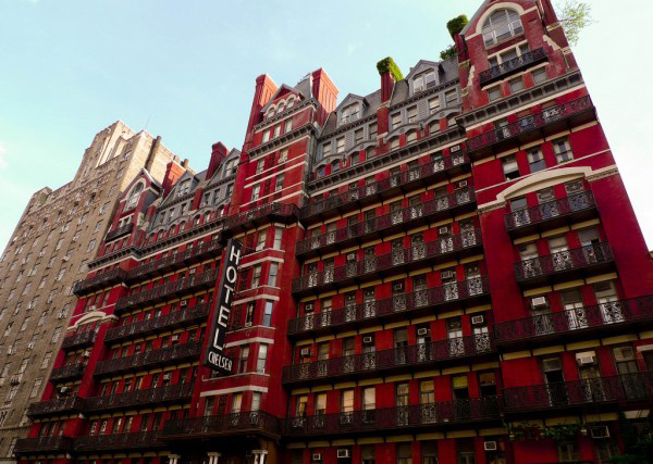 Construction At The Hotel Chelsea Has Resumed Even Though Health Inspectors Found High Levels Of Lead In Dust Site