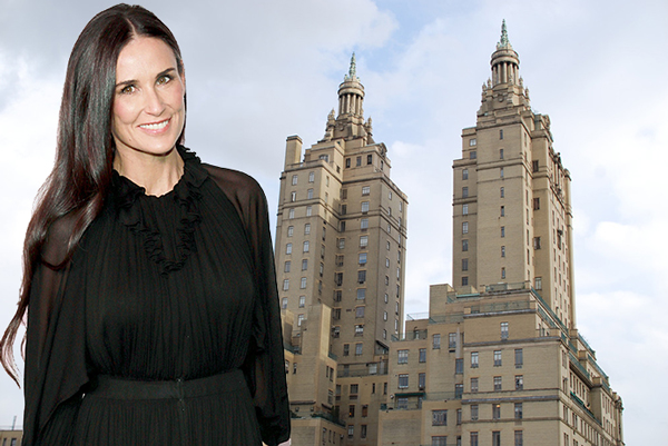 The San Remo At 145 146 Central Park West And Demi Moore Credit Getty Images