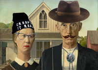 Hipster farmers