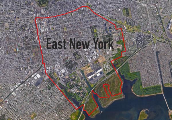 East New York In Brooklyn Credit Google Maps
