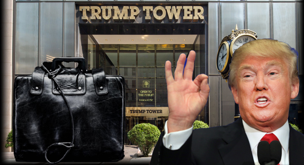 Donald Trump, Trump Tower and the nuclear football