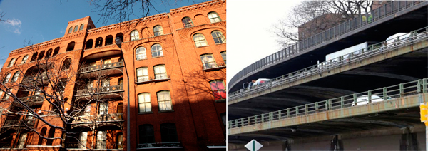 Riverside Houses and the BQE