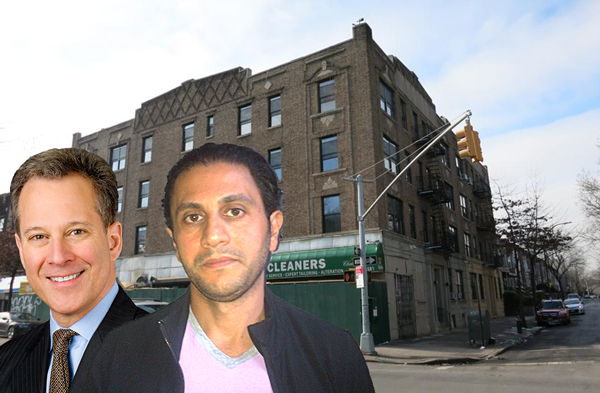 From Left Ag Eric Schneiderman Daniel Melamed And 1578 Union Street In Brooklyn
