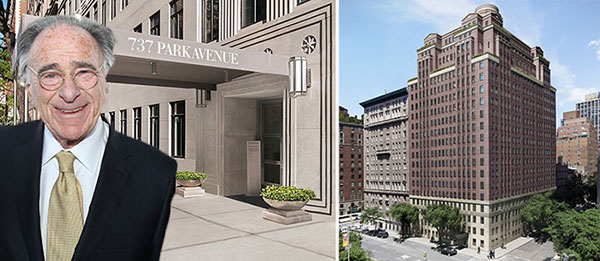 Harry Macklowe and renderings of 737 Park Avenue