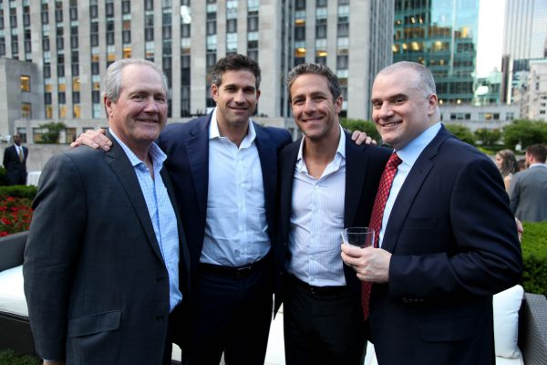 Tom Bermingham, Adam Doneger, Brian Cooper and Jay Levinton