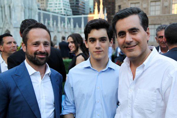 Michael Zampetti, Coby Shalam and Ari Shalam