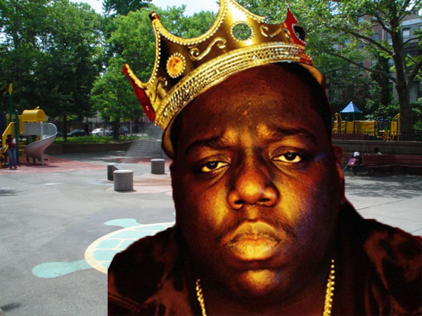 Notorious B.I.G. and the Crispus Attucks Playground