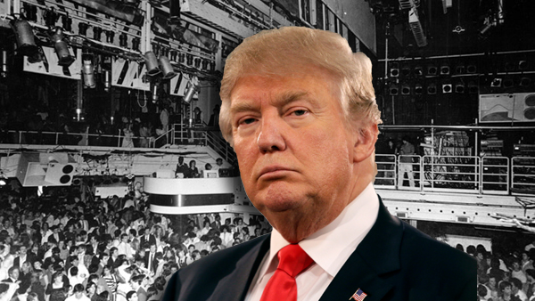 Donald Trump and Studio 54