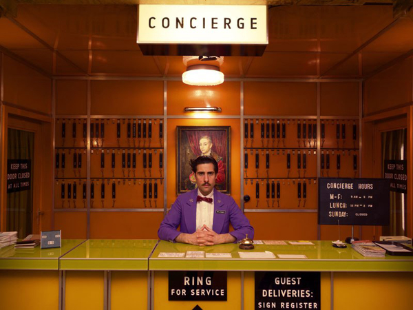 "A still from the ""Grand Budapest Hotel"" by Wes Anderson"