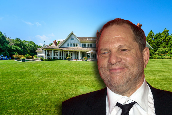 Harvey Weinstein and his Amagansett house