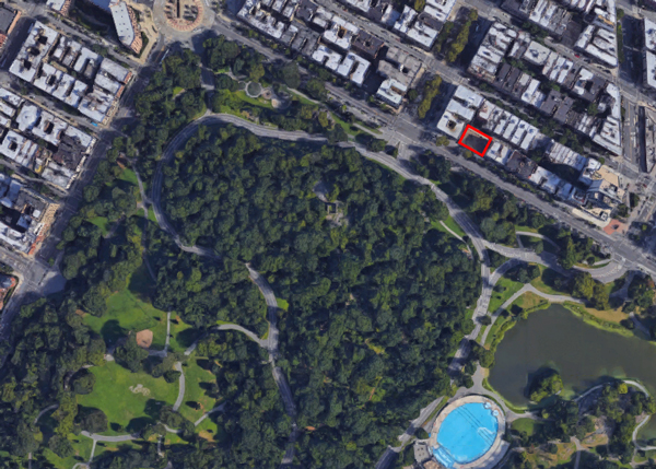 145 West 110th Street | Einhorn Development Central Park Google Map on