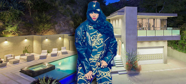 Rihanna and her new house (credit: Wikipedia)