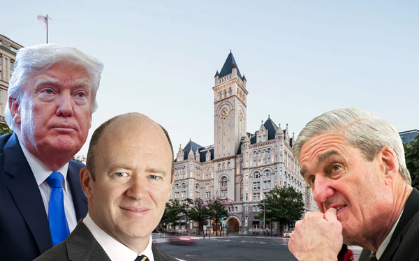 Trump Deutsche Bank records said to be subpoenaed by Mueller
