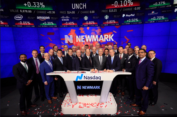 Newmark group ipo filing