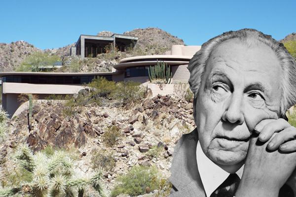 Starchitect Homes | Frank Lloyd Wright Phoenix House