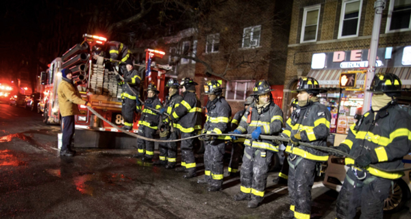 Crown Heights blaze injures 6 firefighters, FDNY says