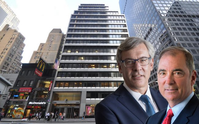 1180 Sixth Avenue, RBC's Dave McKay and Northwood's John Kukral