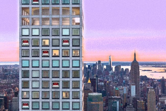 432 Park Avenue Illustration By Lexi Pilgrim For The Real Deal