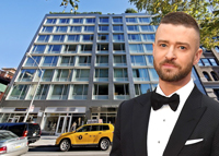 Justin Timberlake, 311 West Broadway