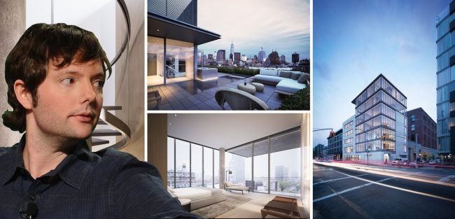 Matt Cohler and the penthouse at 152 Elizabeth Street in Nolita
