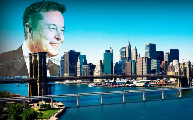 elon musk and a rendering of the hyperloop credit getty images and hyperloop transportation technologies