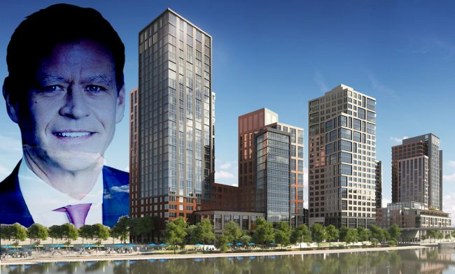Ric Clark, 2401 Third Avenue and 101 Lincoln Avenue (Credit: Brookfield and Hill West Architects)