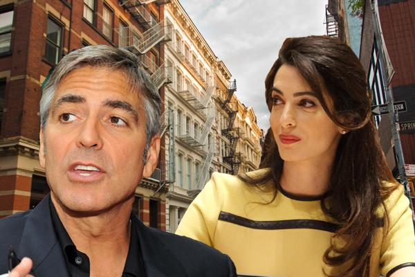 Rental Building Violations | Amal and George Clooney | Soho