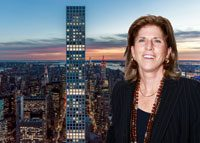 432 Park Avenue and Caryl Englander (Credit: Getty Images)