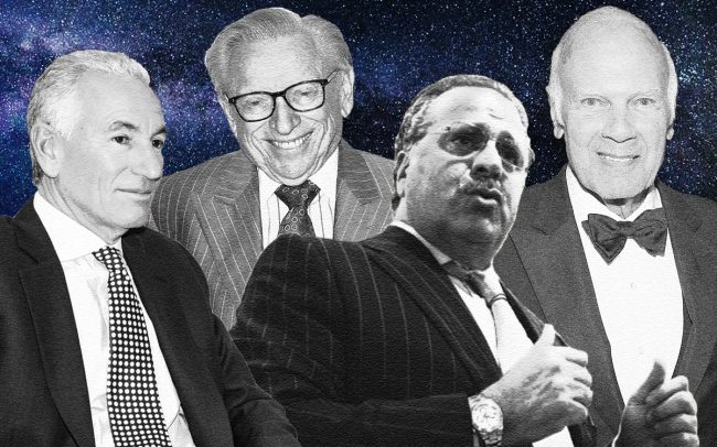 Charles Kushner, Larry Silverstein, Joseph Chetrit and Steve Roth