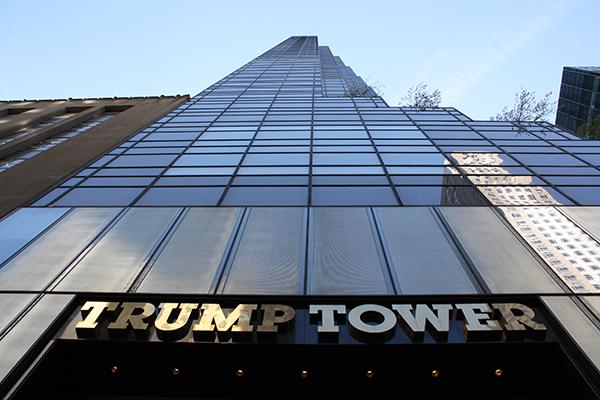 Trump Tower Fire Donald Trump New York