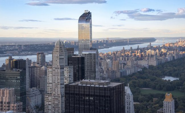 Luxury buildings on Billionaires's Row (Credit: Getty Images)
