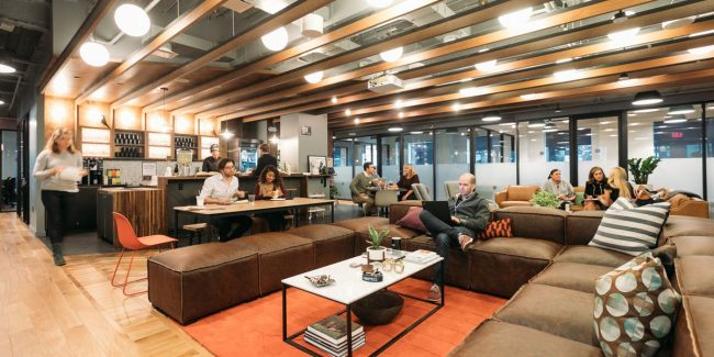Nyc Co Working Spaces Wework The Yard