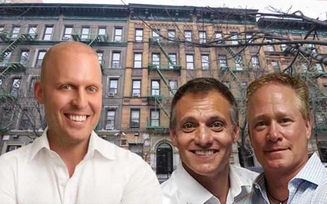 From left: Meyer Orbach, Michael Cohen, Jason Green and 247 West 109th Street