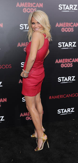 "Chenoweth made her debut in June in the season finale of Starz's ""American Gods,"" a modern take on mythology."