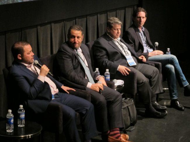 From left: Adam Hess, Albert Dweck, David Schwartz, Jordan Vogel