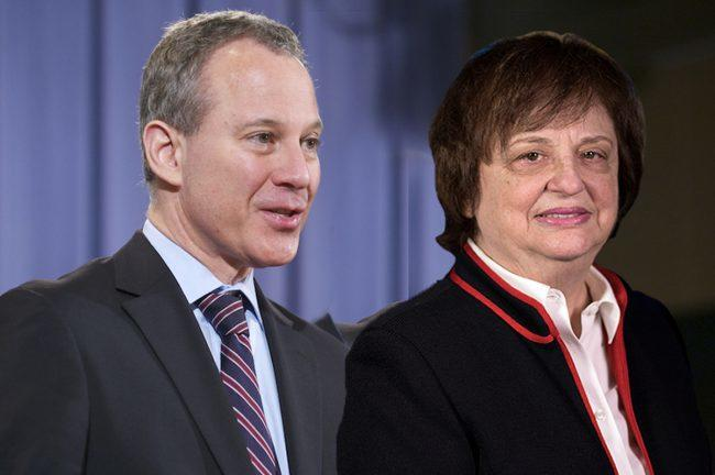 Barbara Underwood the favorite as interviews for Eric Schneiderman's replacement begin