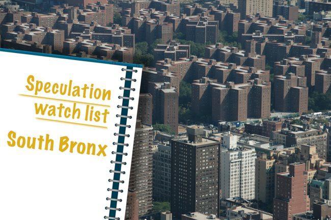 Speculation Watch List   NYC Rent Regulation