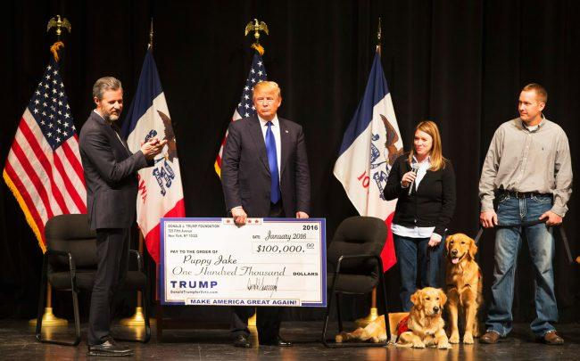 Donald Trump, Trump Foundation sued by NY over 'unlawful political coordination'