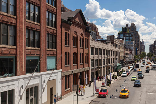 shopping in the meatpacking district