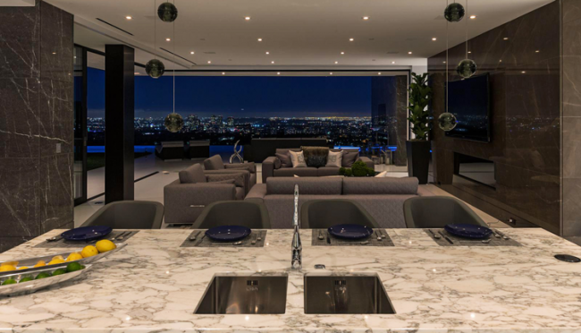 bel-air-luxury-estate-view-kitchen-night