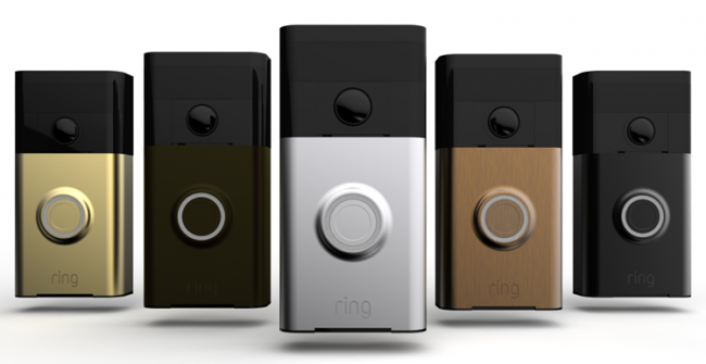 Ring is a new video doorbell system.