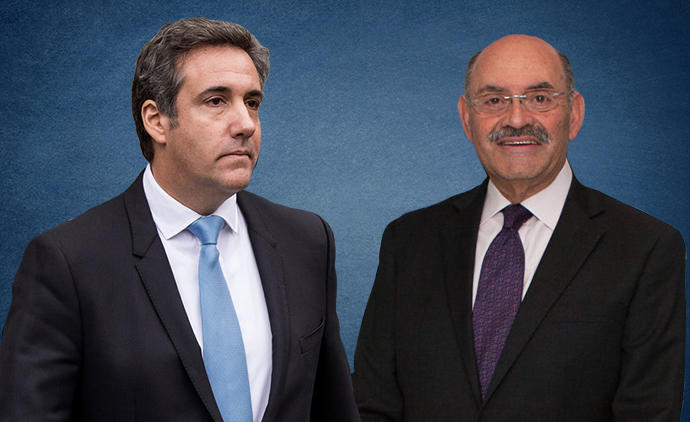 Michael Cohen and Allen Weisselberg