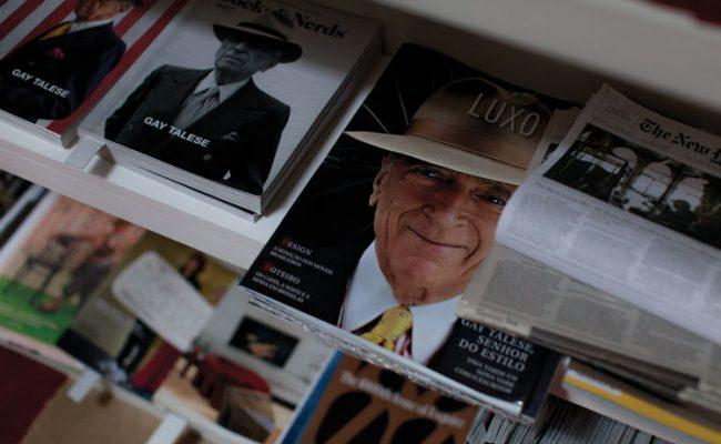 Magazines and newspapers featuring Talese