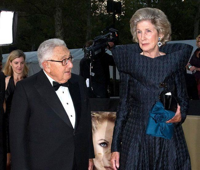 Henry and Nancy Kissinger