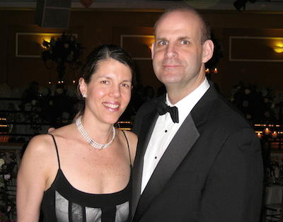 Anne Armstrong-Coben and Harlan Coben