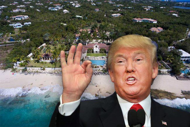 Donald Trump and Chateau Des Palmiers