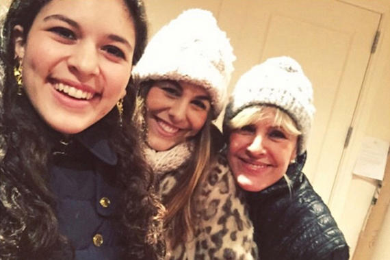Victoria, Marlena and Ewa Laboz (image credit: Instagram)